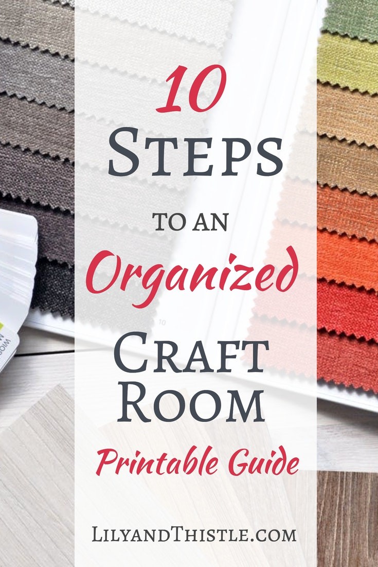 Art And Craft Studio Organization For Small Spaces Lily Thistle