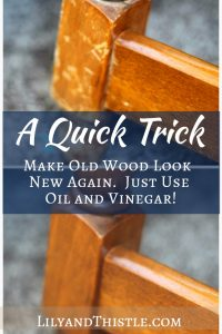 A Quick Trick – Turning Old Into New Again