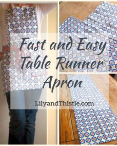 Table Runner Apron – From the Archives