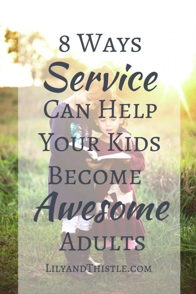 I'm always looking for parenting hacks to help my kids be more confident and aware of the world around them. Turns out, community service is a great tool! It doesn't have to be complicated! Get simple ideas for kids, teens, and toddlers. #serviceideas #communityservice #ldsserviceideas #lds #simpleserviceideas #serviceinspiration