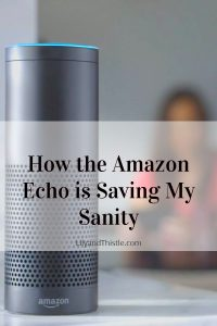 How the Amazon Echo is Saving My Sanity