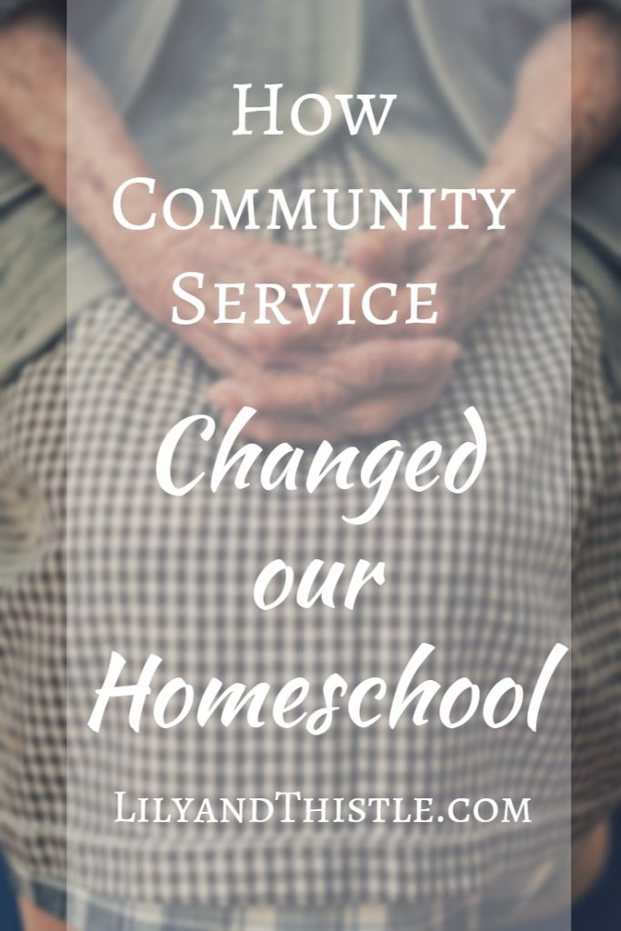 Finding opportunities in our own little community for service activities has been a game changer for our family. I've found that no homeschool curriculum or schedule is more educational for both kids or teens than service. Even my struggling reader has benefitted! #serviceactivities #homeschool #parentingtips #kidsactivities #serviceideasforkids #serviceideasforteens