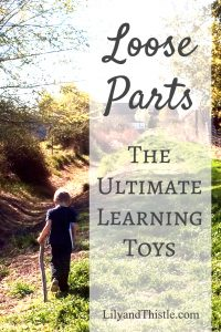 Loose Parts – The Ultimate Learning Toy