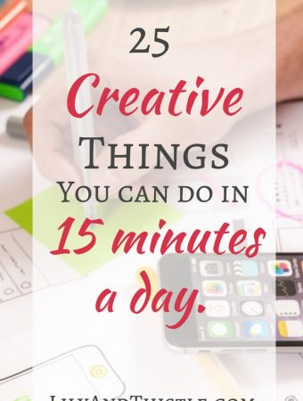 finding creative time