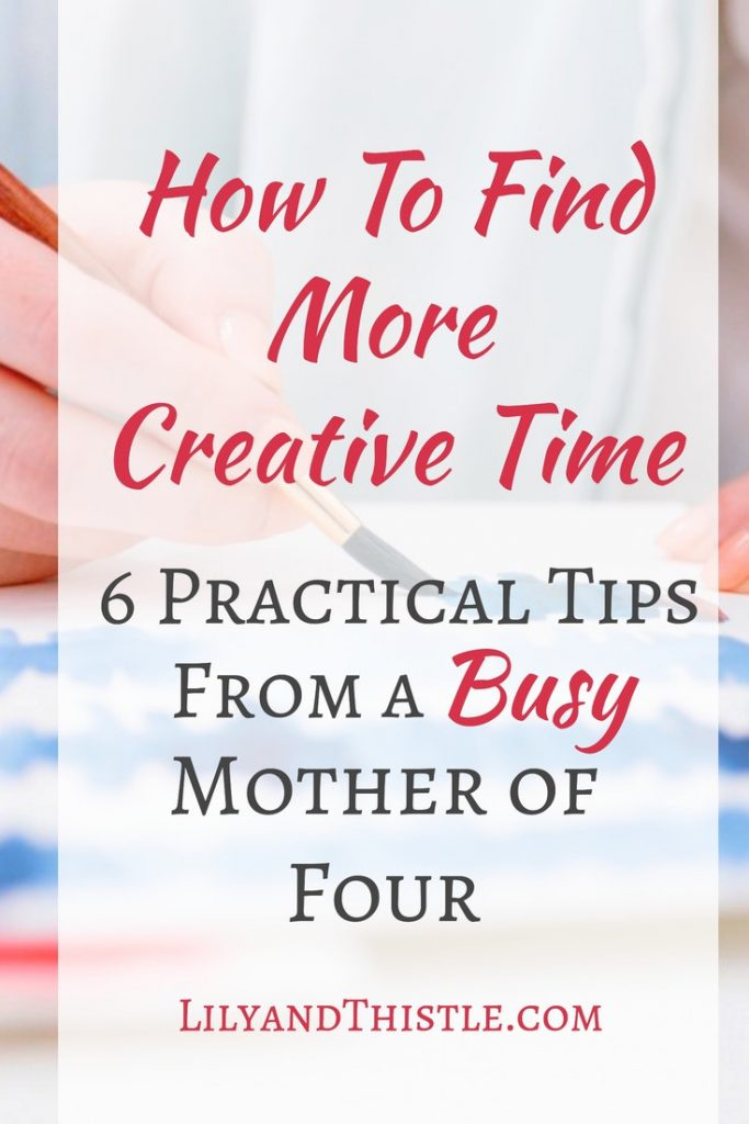 creative time for mom