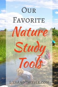 Our Favorite Nature Study Tools