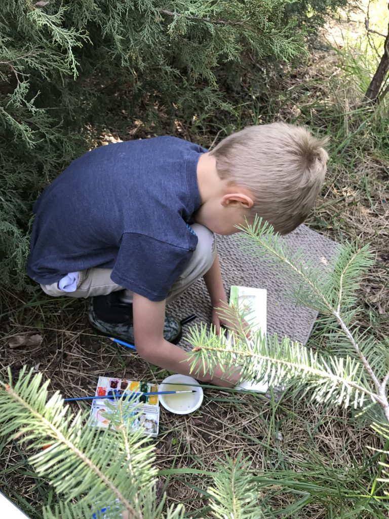 Nature Journaling for Mom - Why It's Awesome and How To Get Started