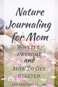 Nature Journaling For Mom – Why It's Awesome and How to Get Started