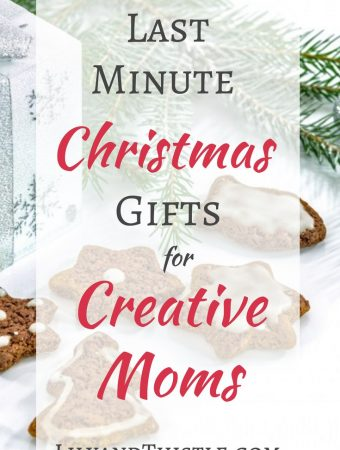 Last Minute Christmas Gifts for Creative Moms