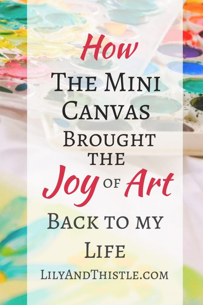 How the Mini Canvas Brought Back Art