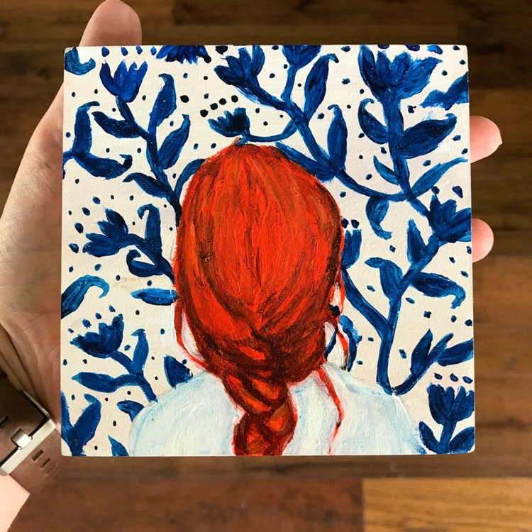 How The Mini Canvas Brought The Joy Of Art Back Lily Thistle