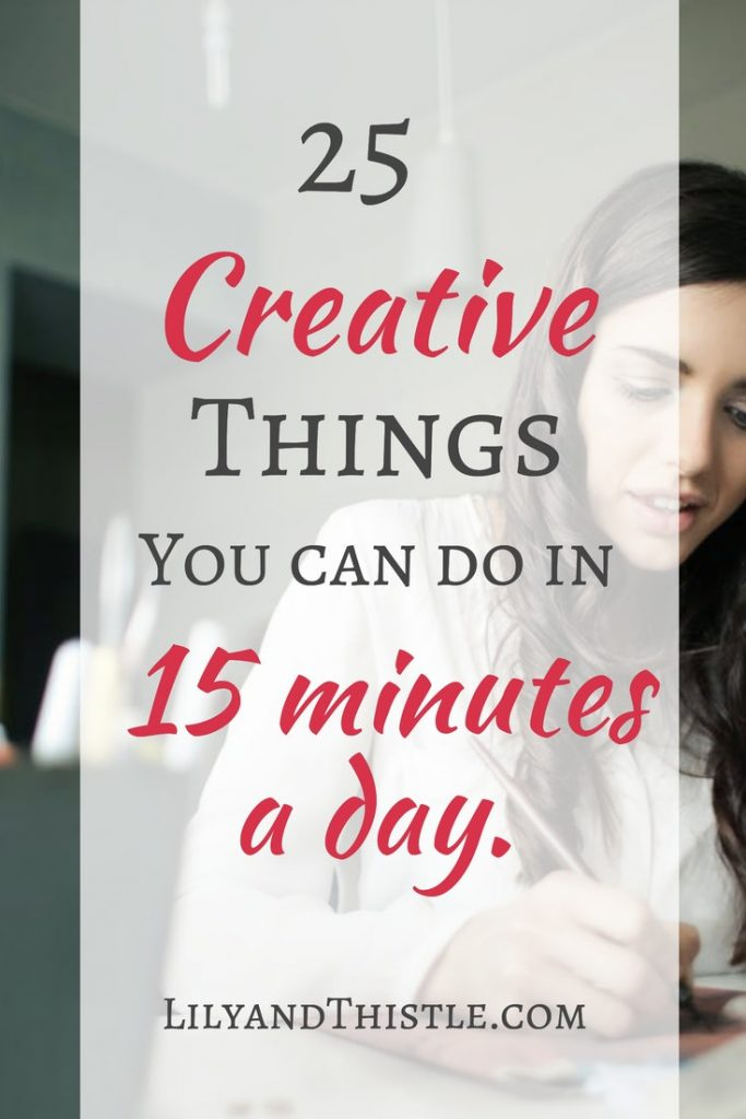 Finding time to create is one of motherhood's biggest struggles. Here is a great list of simply and easy ideas of ways to get art and crafts in. Whether is paper crafting or hand lettering. There are ideas and inspiration for you here! #artistselfcare #creativetime #artformom #makers