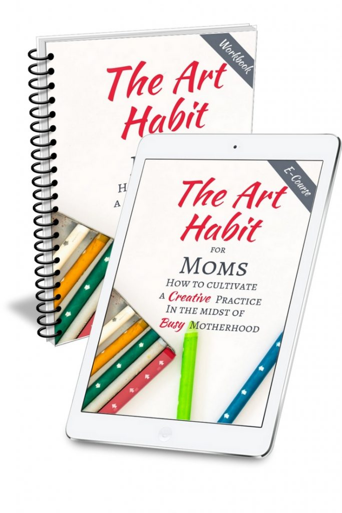 Do you long for more creative time? Motherhood has a way of putting art and creativity on the bottom of the priority list. Self-care is important. Let me show you how to bring drawing, painting, journaling, whatever fills you up, back in practical, easy ways. Sign up for this powerful and FREE e-course today! #art #momlife #momtime #artinspiration #creativecrafts #creativemom #selfcare #artproject #timemanagement