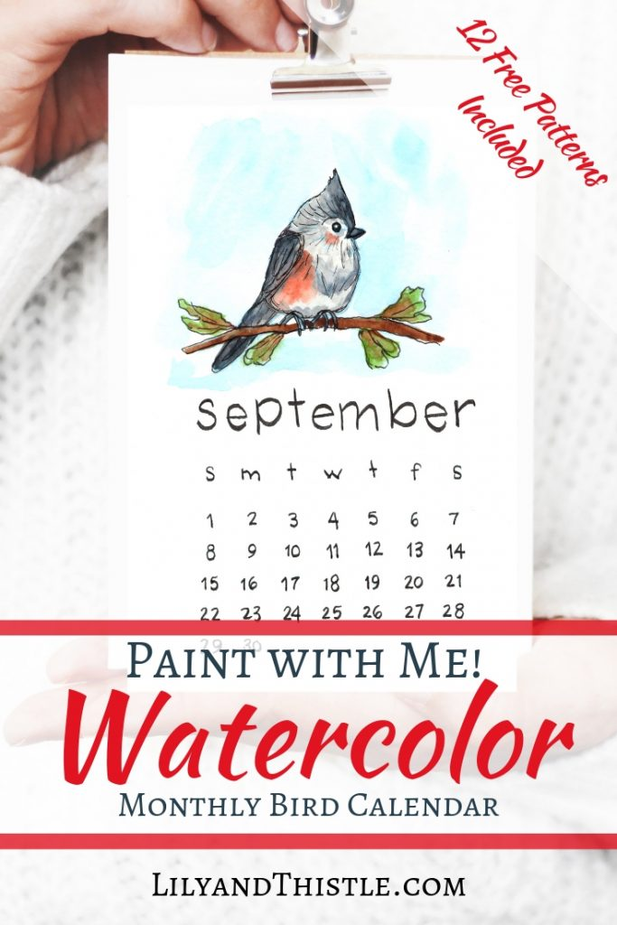 Paint a 2019 calendar with me! Fun, free tutorial complete with free printable patterns for you. Perfect for beginners. Supplies, inspiration, techniques and fun!