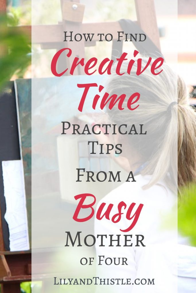 Self-care for moms is so important! Creativity is one of the best ways to fill your bucket. Whether you are taking art classes, doing a bullet journal, paper crafting, finding time to create is good for your mental health and your relationships with others. This article gives small, easy tips and tricks on how to find more time to do it! #arttherapy #creativeselfcare #selfcare #artjournal