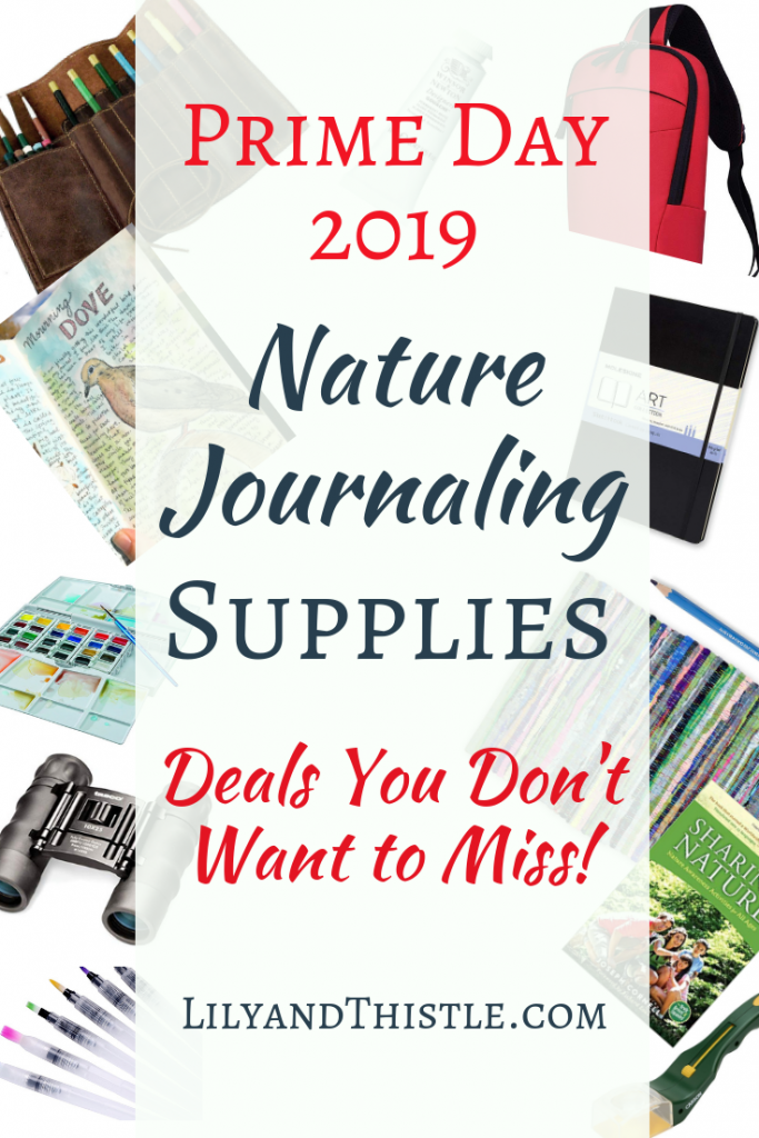 Prime Day Deals for Nature Journaling Nature Study Nature Lovers Homeschoolers Charlotte Mason