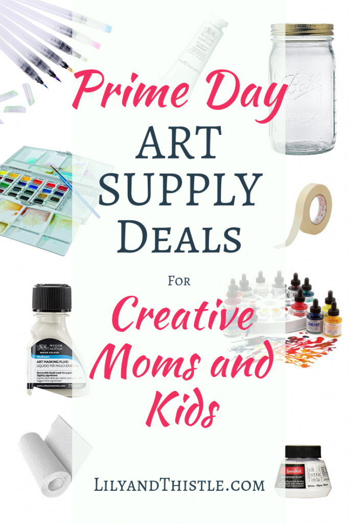 Prime Day 2019 Deals for Art Supplies Creative Moms and Kids