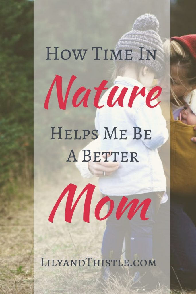 Do you want to be a better mom? Me too! I've found that nature is my greatest ally in raising happy kids and being happy too. This article is full of tips, quotes and inspiration for parenting using nature! #naturestudy #charlottemason #creativeparenting #parentingtipsandtricks
