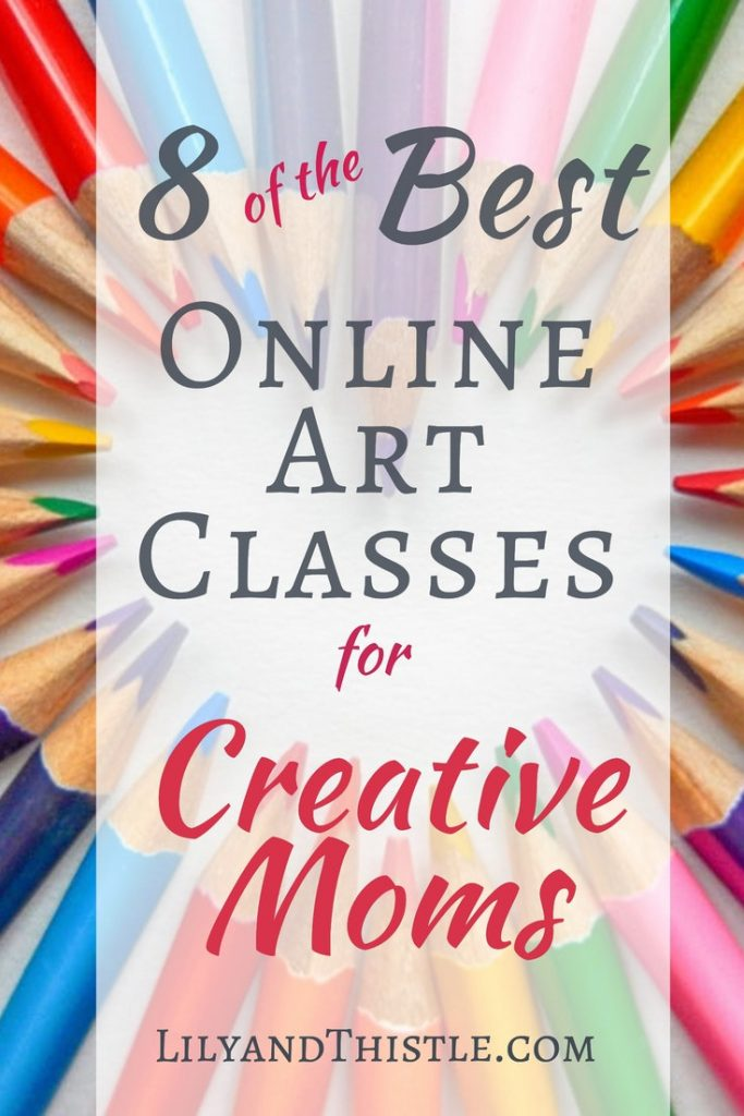 A list of my favorite art and craft classes. Such a great way to learn especially for busy moms. Learn in the comfort of your own home. Handlettering, bullet journaling, drawing, painting, crocheting. You name it and there is a great class for it! #artformom #onlinecraft #craftingclass #drawingclassforbeginners