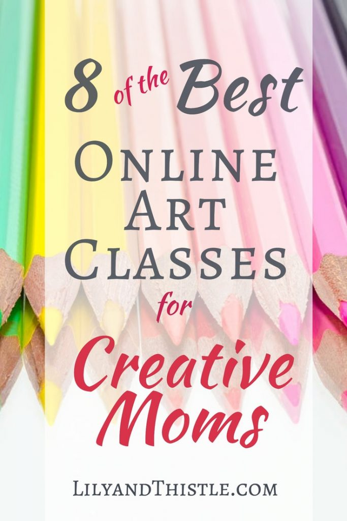 Online classes for moms to learn art and crafting skills. You can be a beginner. Simple easy tips for learning art. Drawing, painting, art journaling, sketching, crocheting, knitting. Lots of great classes from home!