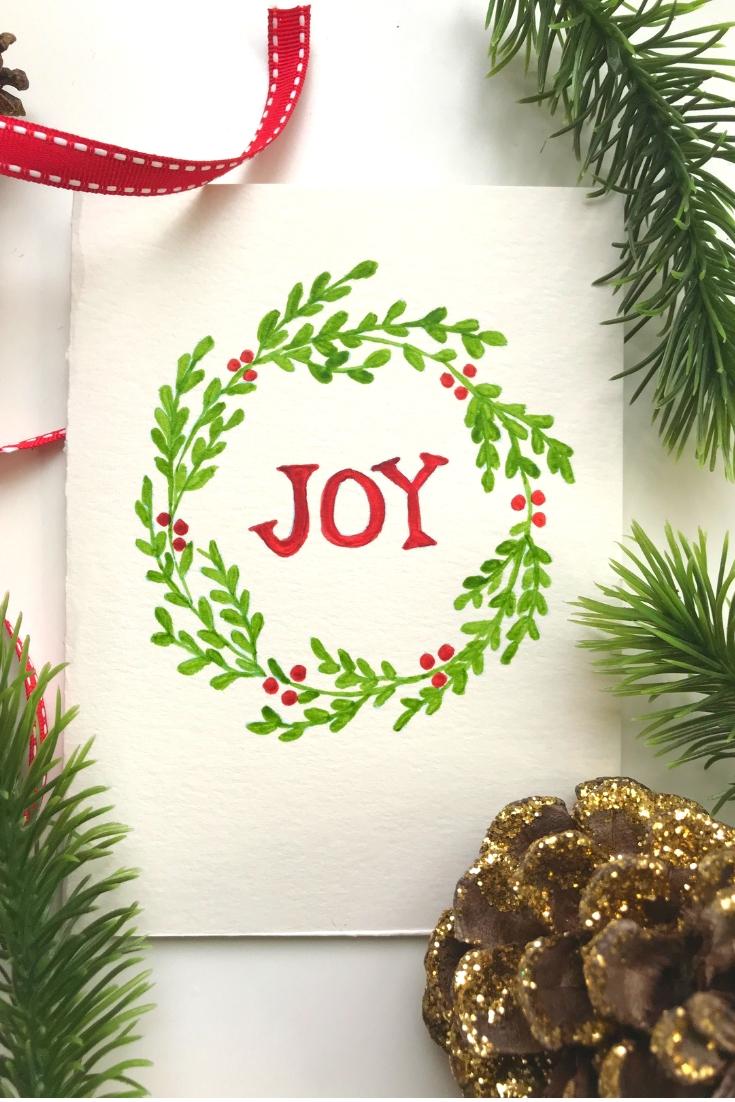 Get 43 Simple Christmas Watercolor Paintings Opritek